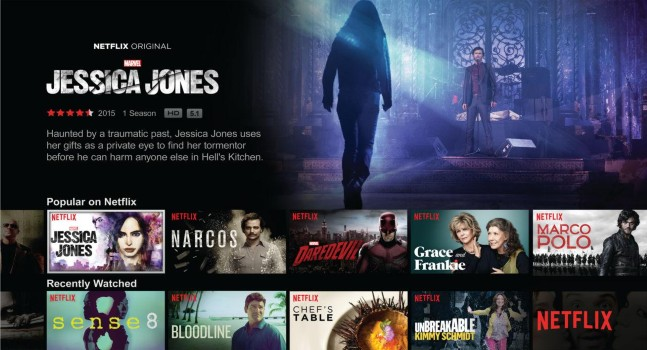 Netflix App on Smart TV