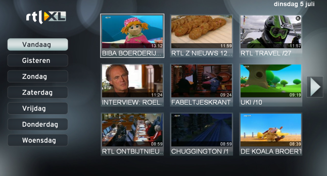 RTL App on Smart TV